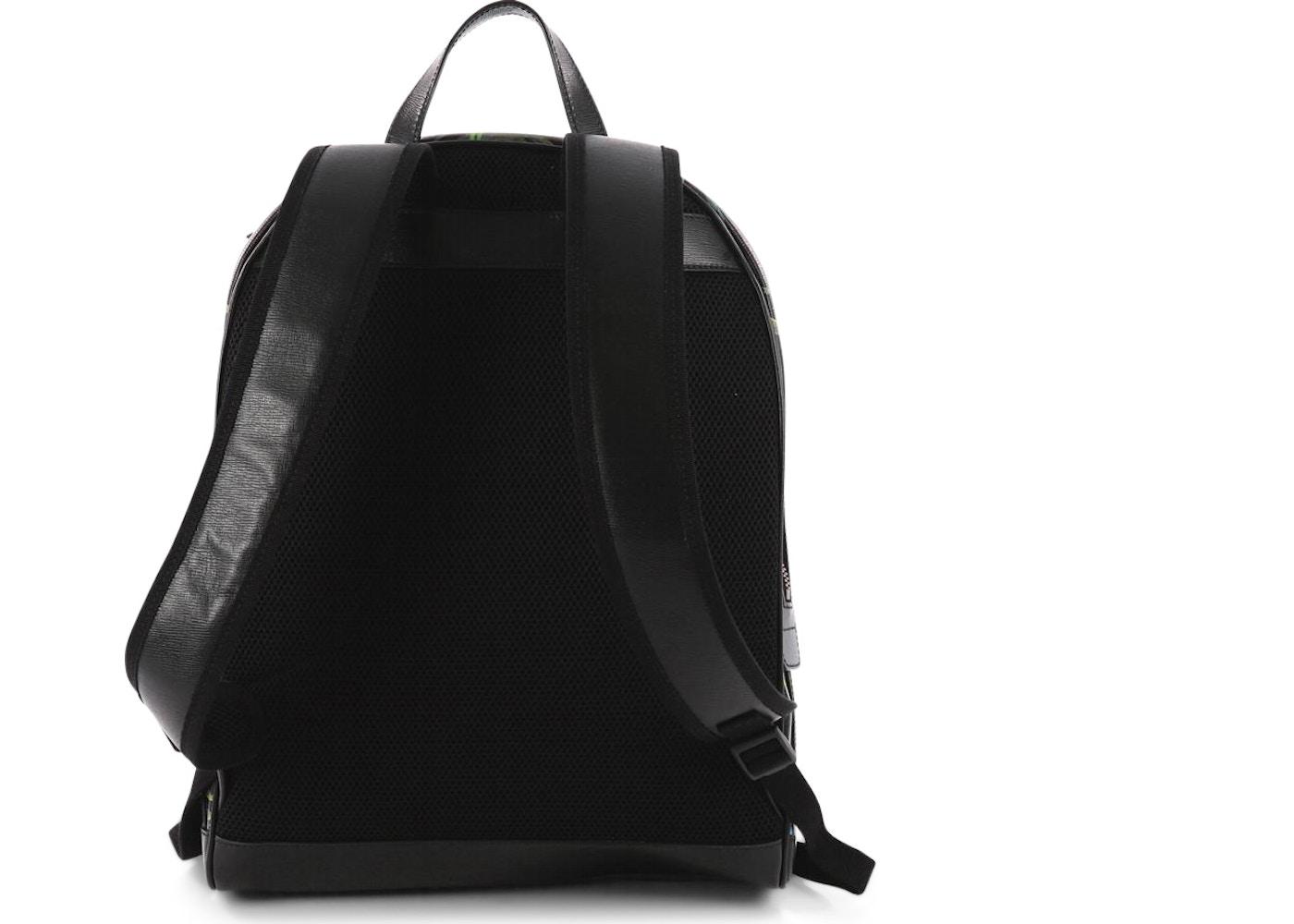 c06c634ae259 Gucci Backpack Tropical Medium Black