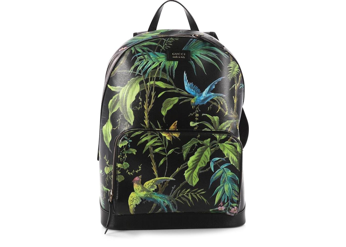 6b45281dde5d Gucci Backpack Tropical Medium Black. Tropical Medium Black