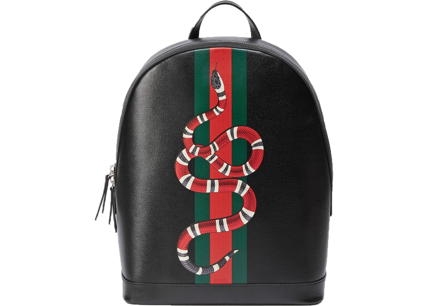 f8d3605e4dde Gucci Web and Kingsnake Backpack Black. Black