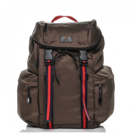 Gucci Web Techno Backpack Web