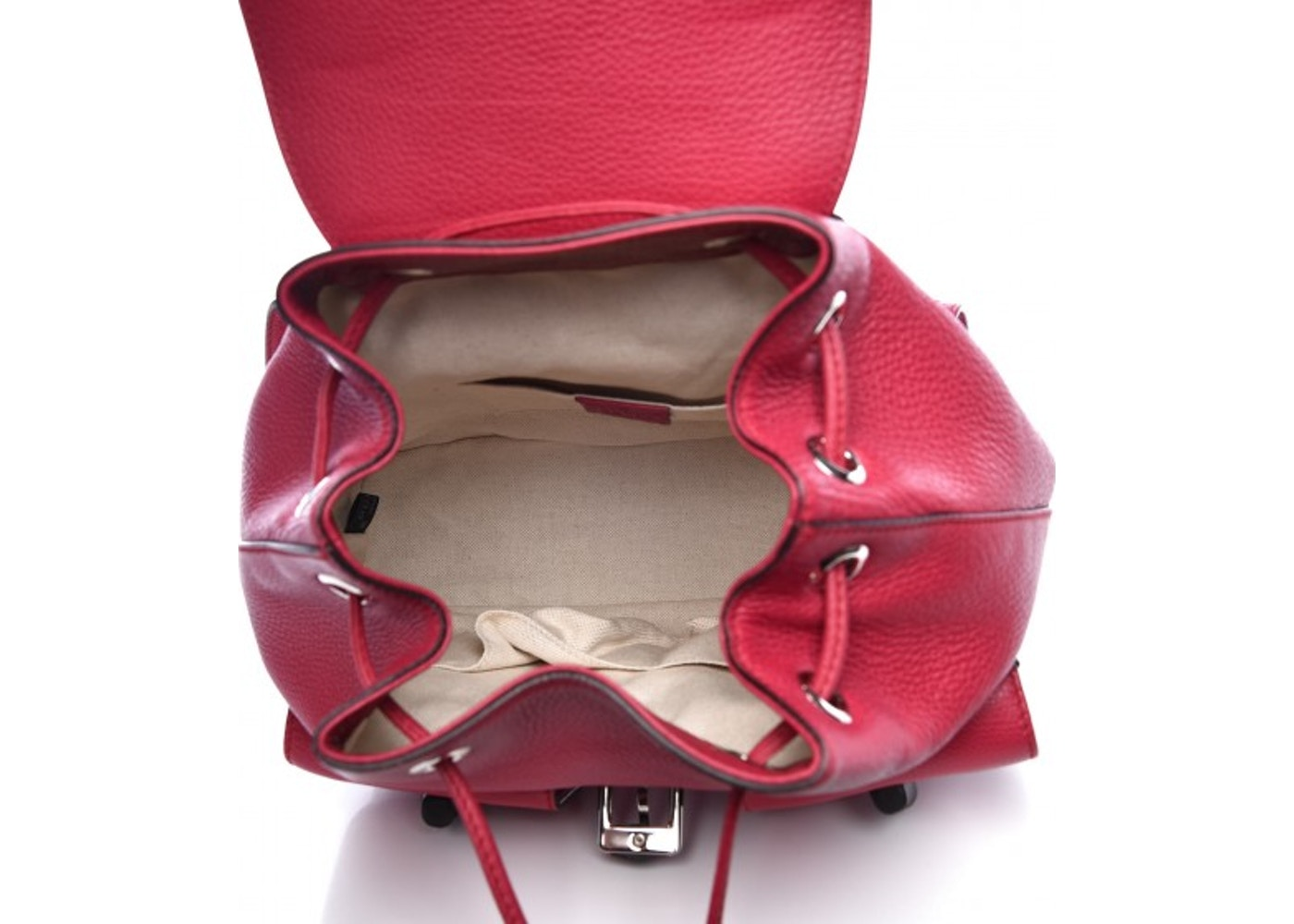 6378ef5a8 Gucci Bamboo Backpack Medium Petunia