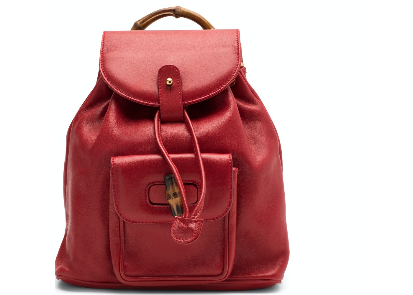 Gucci Bamboo Backpack Mini Leather Red. Mini Leather Red f17827c605