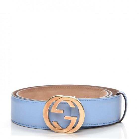 light blue gucci belt