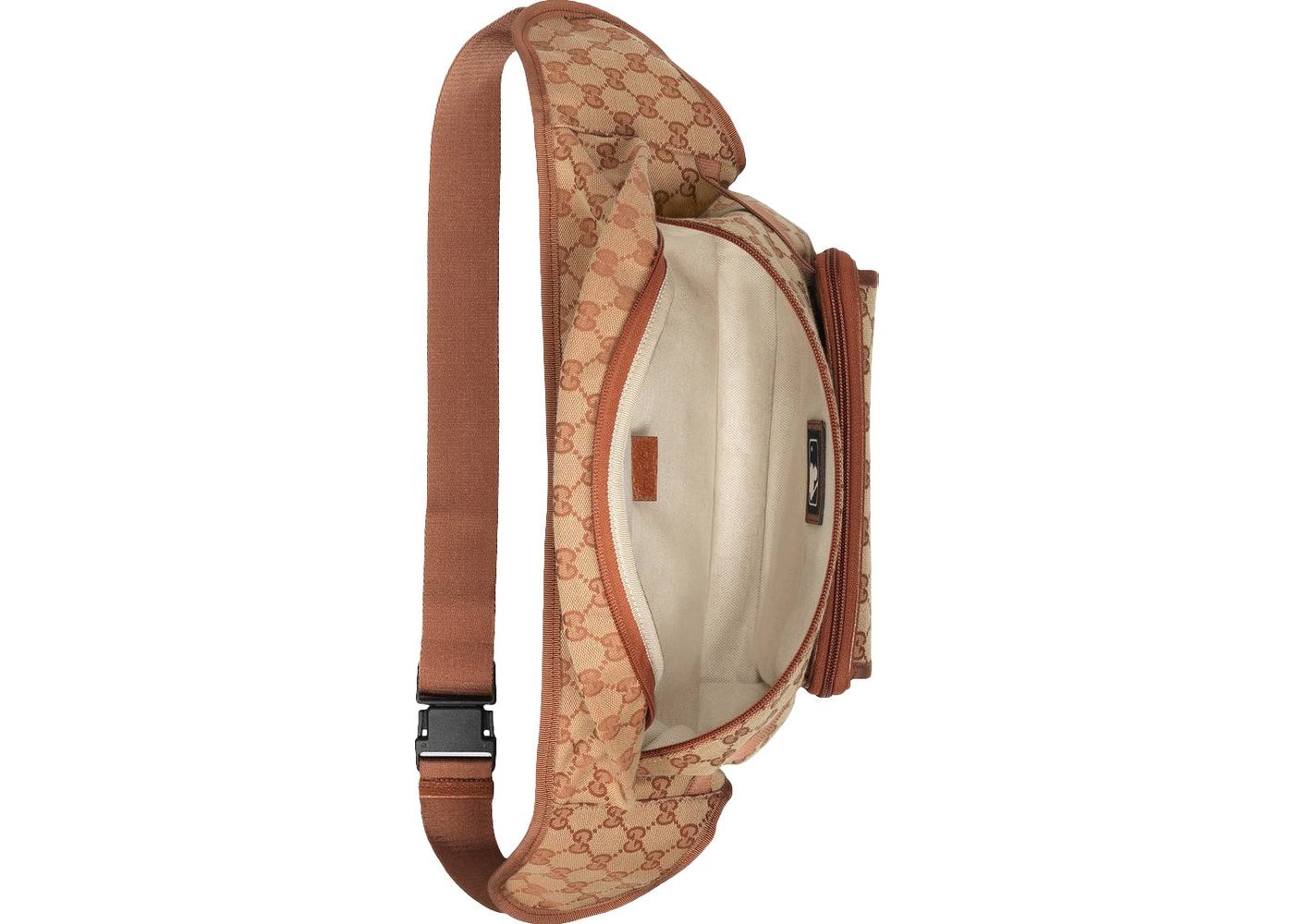 2b90126b431 Gucci Belt Bag LA Angels Patch Brick Red Beige