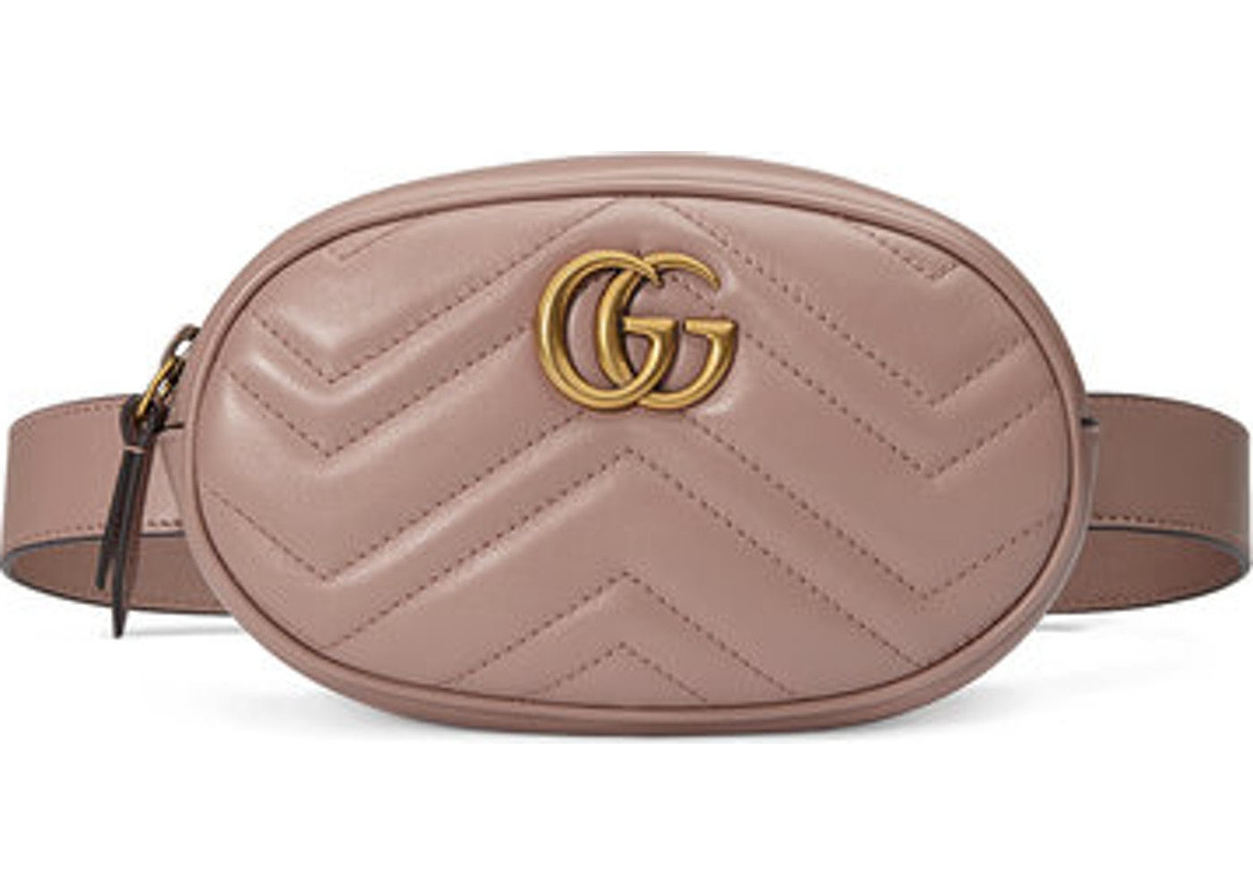 211805d552d Gucci Marmont Belt Bag Matelasse GG Dusty Pink. Matelasse GG Dusty Pink