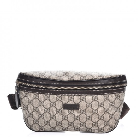 Gucci Belt Bag Monogram Supreme Brown