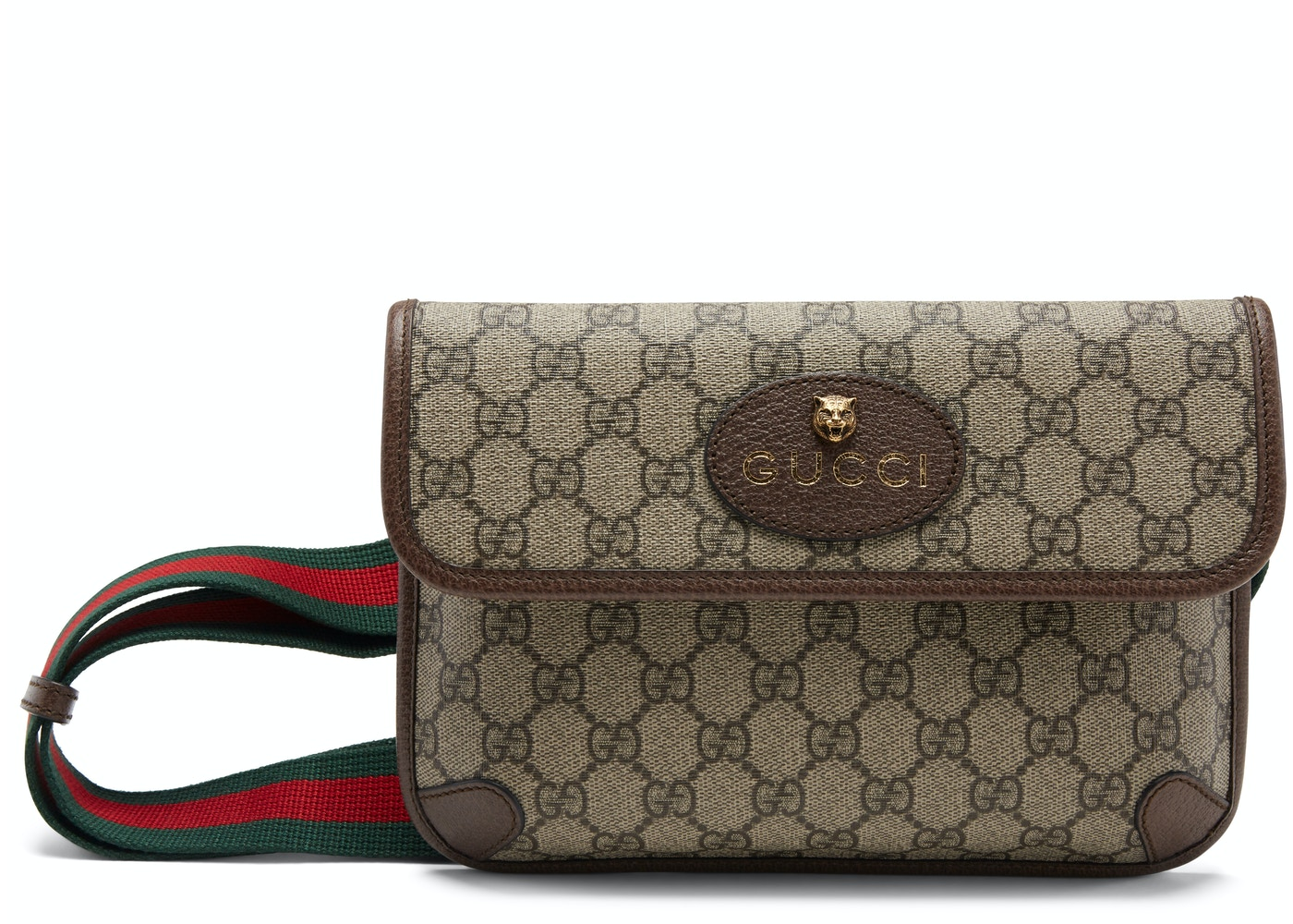 50b9795228eb Gucci Belt Bag Neo Vintage Monogram GG Supreme Web Brown. Monogram GG  Supreme Web Brown