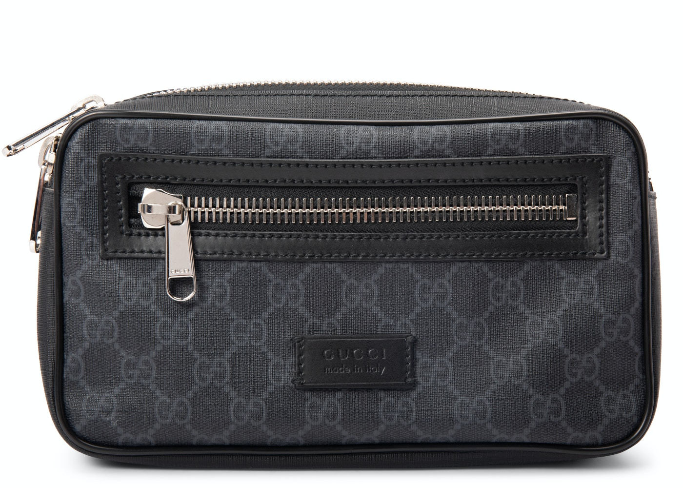 a05a144e8f4 Gucci Belt Bag Soft GG Supreme Web Strap Black Red
