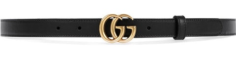 Double G Buckle 65-26 Black