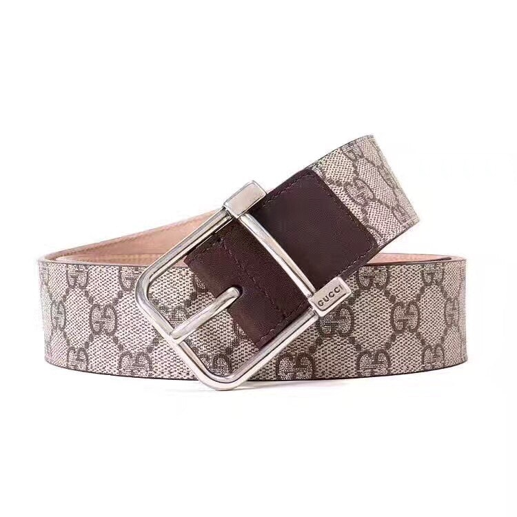 Gucci Belt GG Supreme Beige/Brown