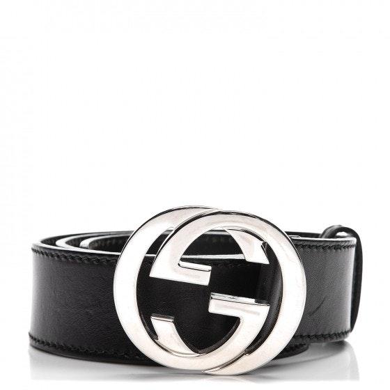 Gucci Interlocking G Belt 80 32 Black