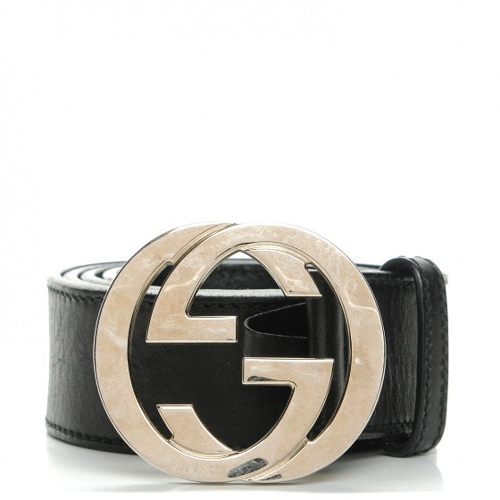Gucci Interlocking GG Belt Black