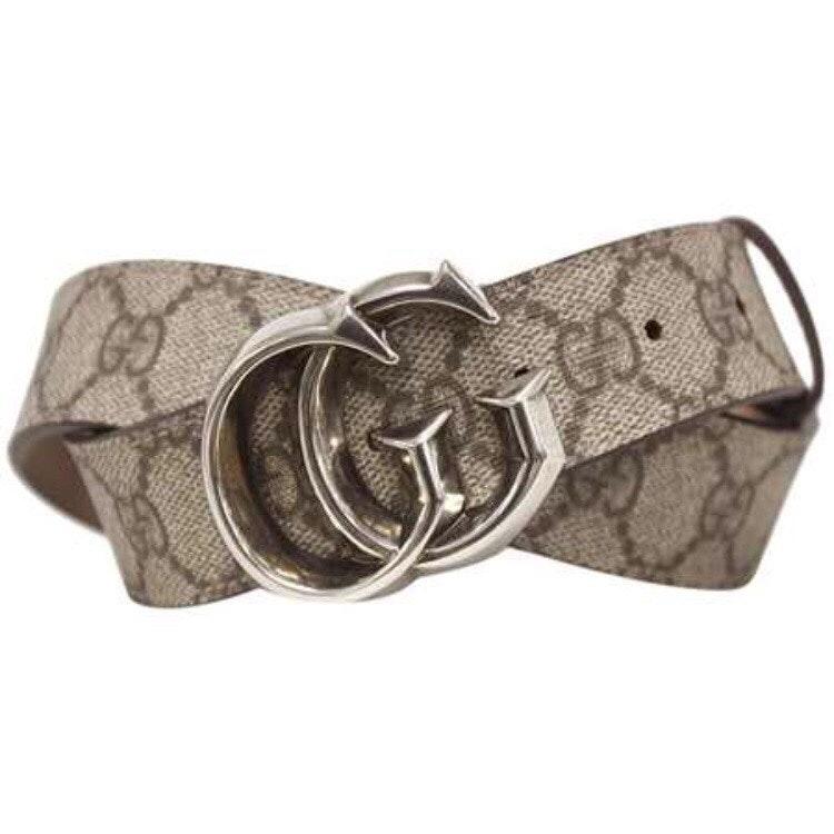 Gucci Belt Supreme GG Beige/Brown