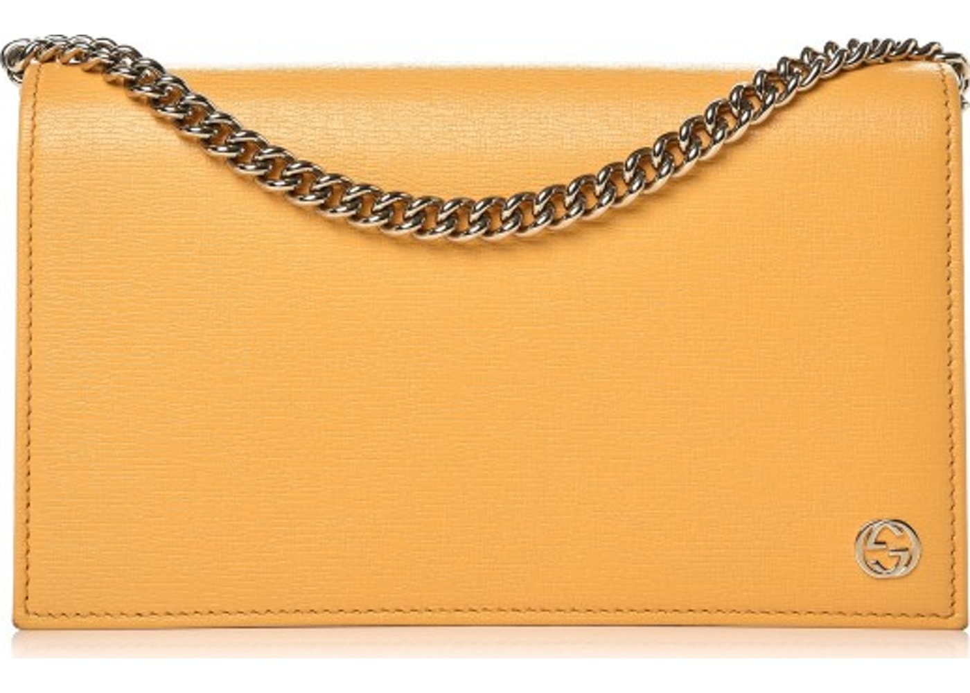 fb113c664040 Gucci Betty Chain Wallet Interlocking GG Medium Yellow. Interlocking GG  Medium Yellow