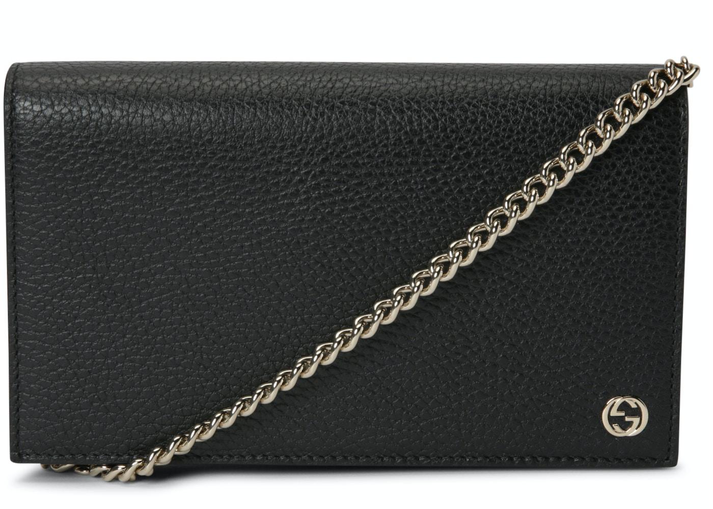 c770ddebcf23 Gucci Chain Wallet Betty GG Medium Black. GG Medium Black