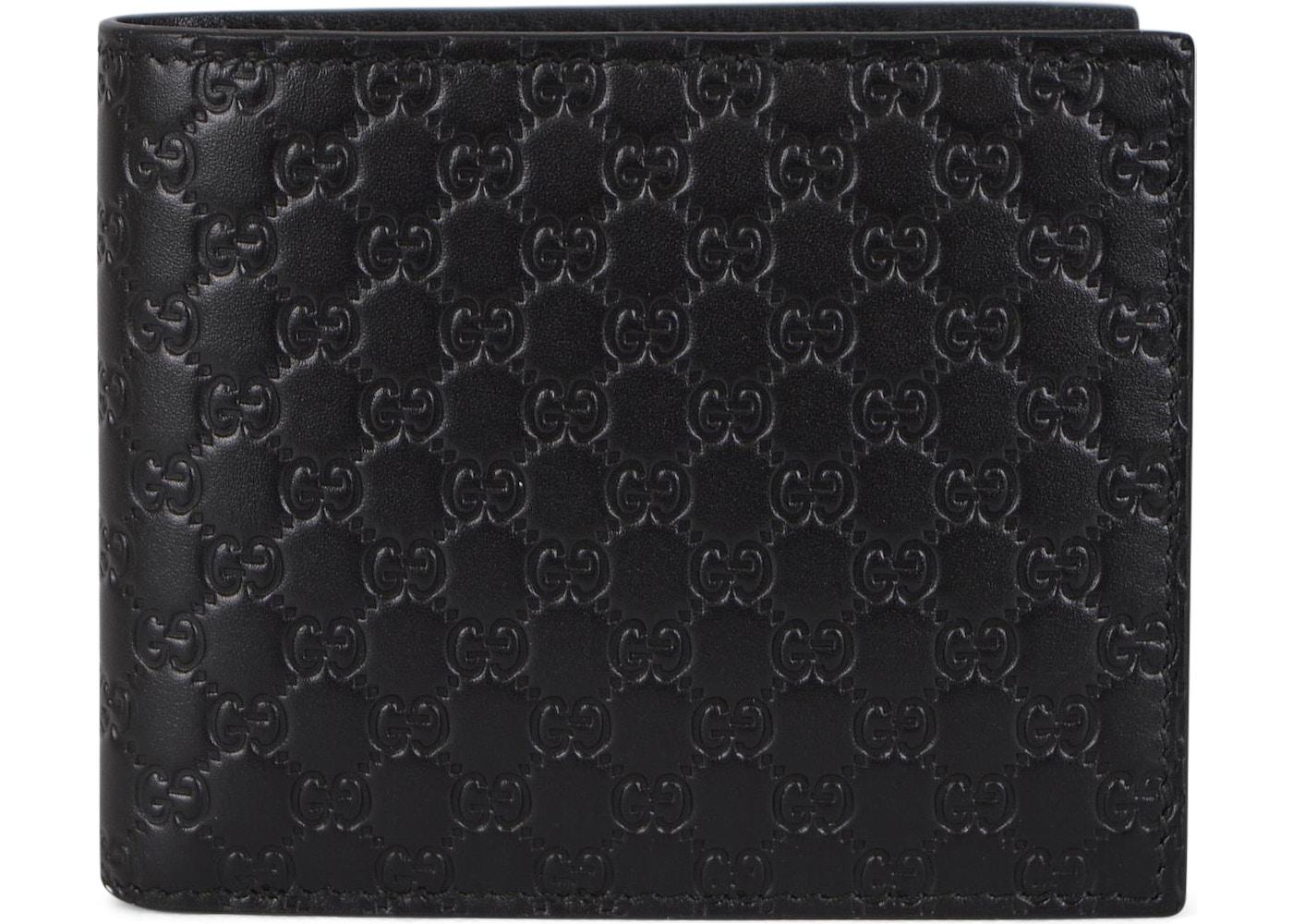 80207200961 Gucci Bifold Wallet MicroGuccissima Black. MicroGuccissima Black