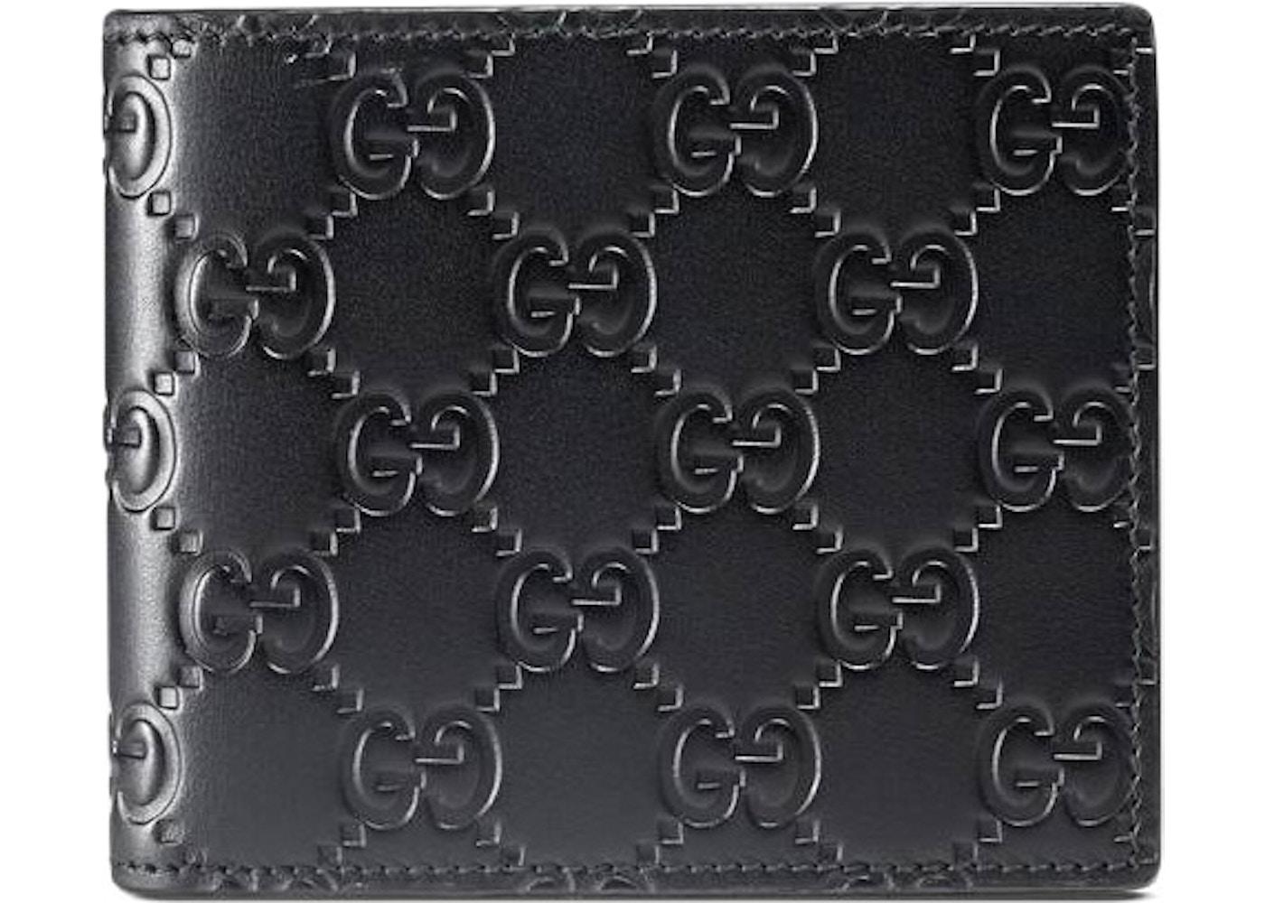 9f0b6d553ea6 Gucci Bifold Wallet Signature Black. Signature Black