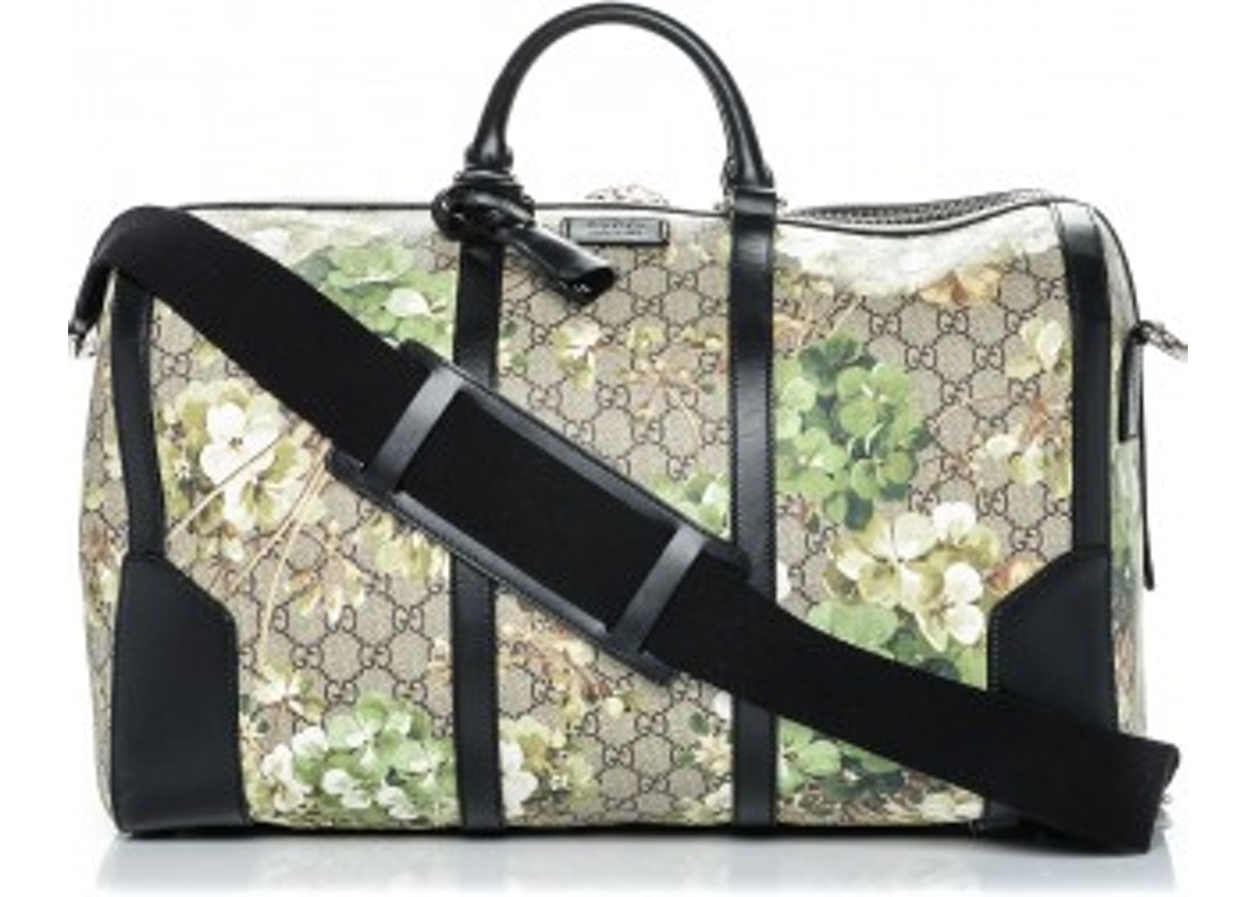 f6b65482545531 Gucci Duffle Bag Blooms GG Supreme Monogram Floral Print Medium ...