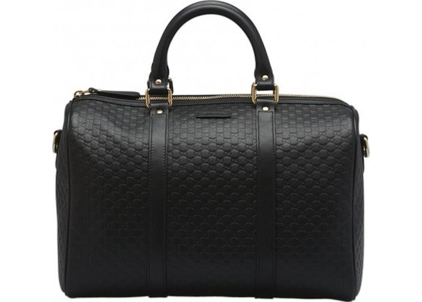 a30e5363f45 Sell. or Ask. View All Bids. Gucci Boston Bag Satchel Microguccissima Black