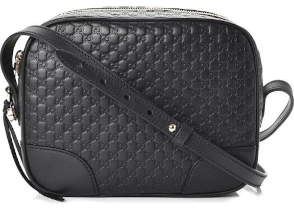 Gucci Bree Messenger MicroGuccissima Mini Black 07e7d5221d