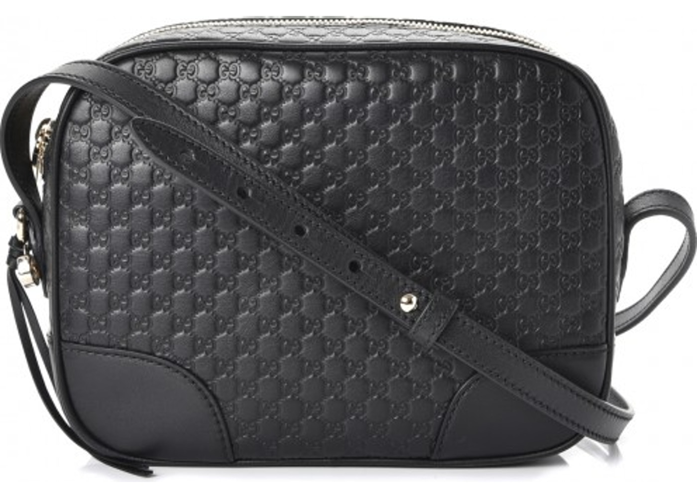39e89e945f99 Gucci Bree Messenger MicroGuccissima Mini Black. MicroGuccissima Mini Black