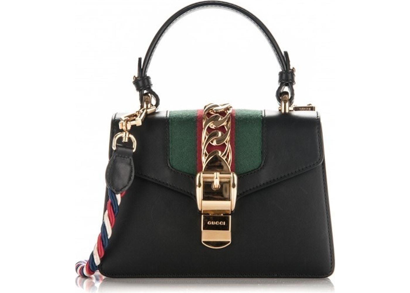 933b623aeac3 Gucci Sylvie Shoulder Mini Black. Mini Black