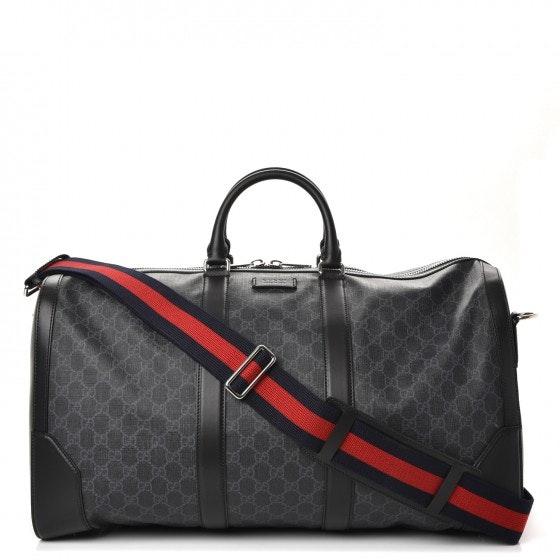 Gucci Carry On Duffle Monogram GG Supreme Black