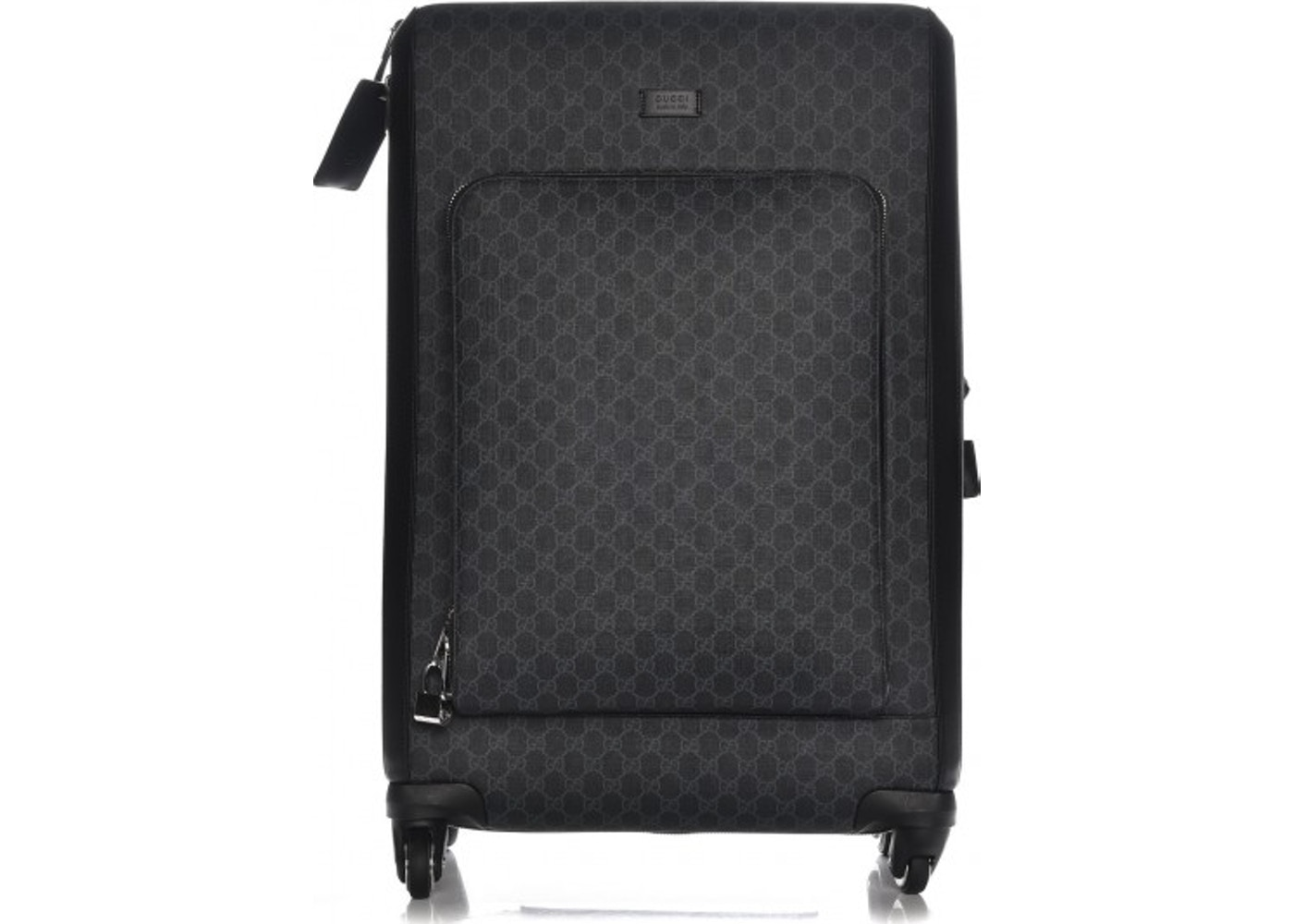 129f7a60c1a3 Gucci Suitcase Carry On Monogram GG Supreme Black