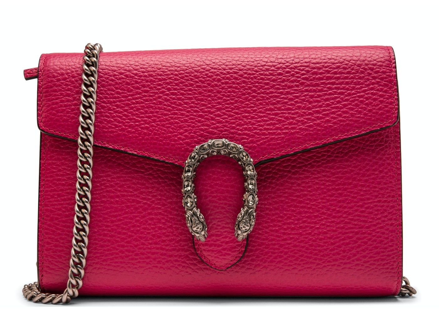 101de3e6bb4 Gucci Chain Wallet Embellished Small Fuchsia. Embellished Small Fuchsia