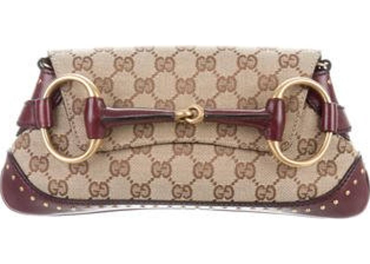 08d05b990f35c8 Gucci Horsebit Clutch Clutch Horsebit Brown/Tan/Maroon