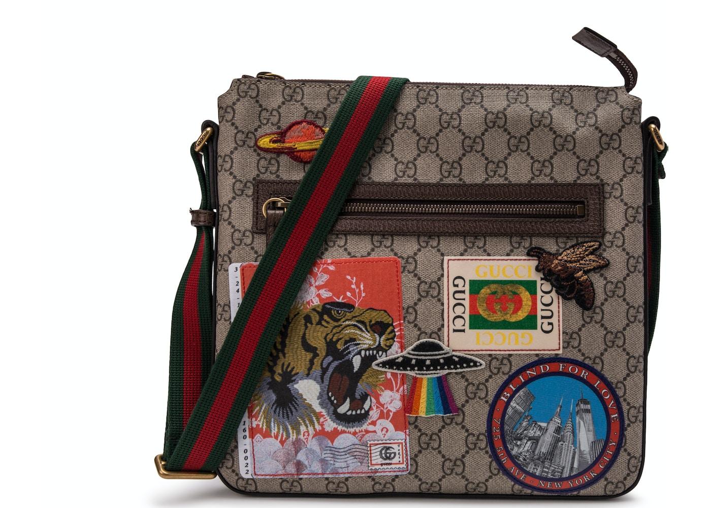 06f6104a7d8 Gucci Courrier Messenger GG Supreme Brown. GG Supreme Brown
