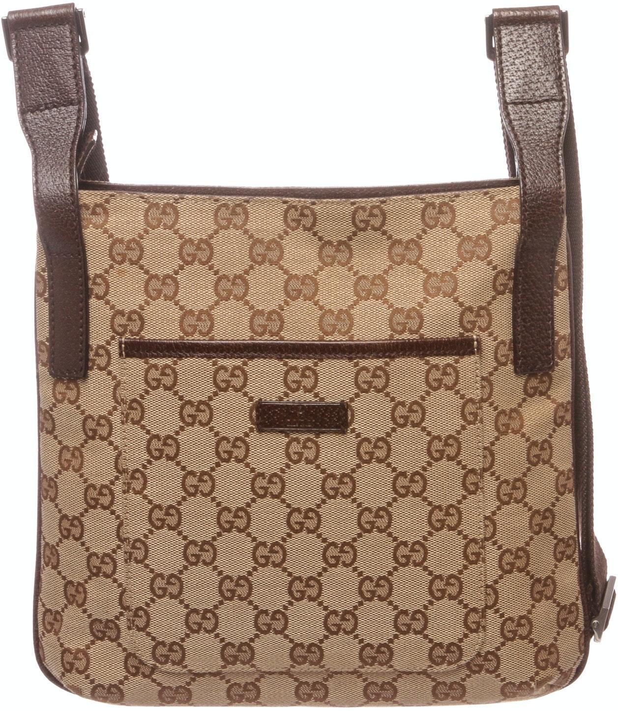 Gucci Crossbody Monogram GG Beige/Brown