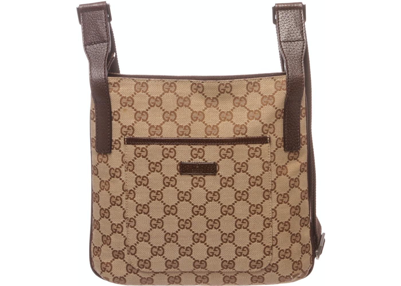 0b881e72e003ea Gucci Crossbody Monogram GG Beige/Brown