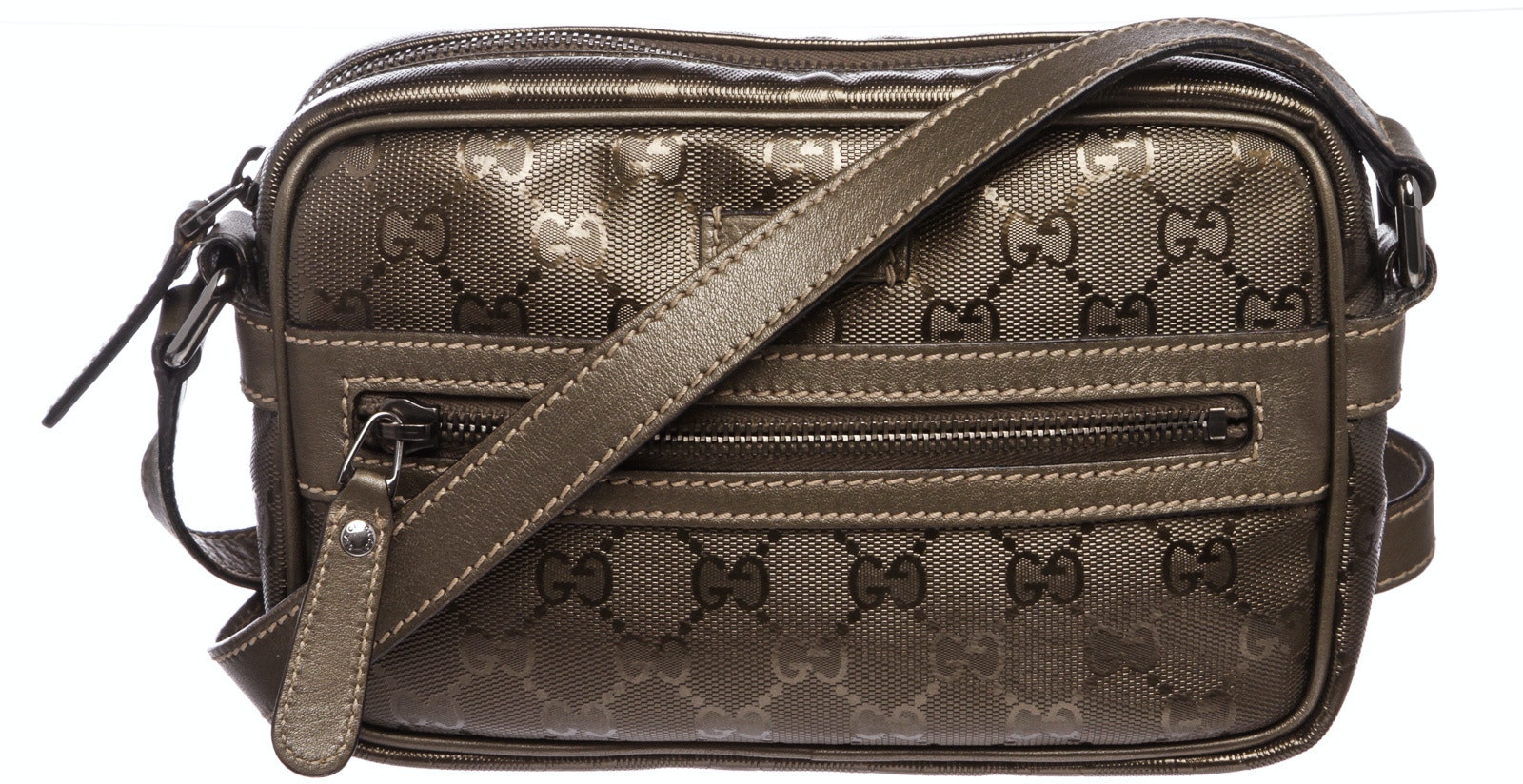 Gucci Crossbody Monogram GG Imprime Grey