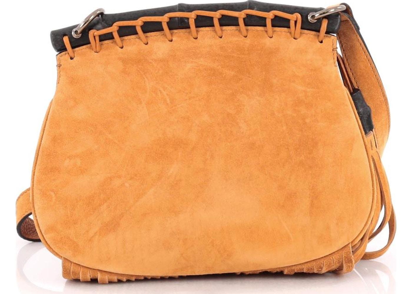 ac159492e Gucci Nouveau Fringe Crossbody Small Orange