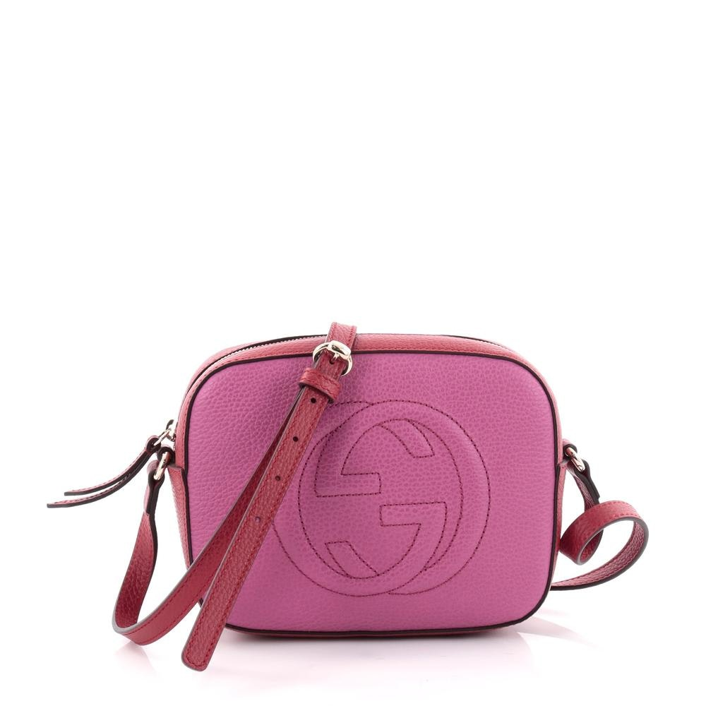 Gucci Soho Disco Crossbody Small Pink/Red