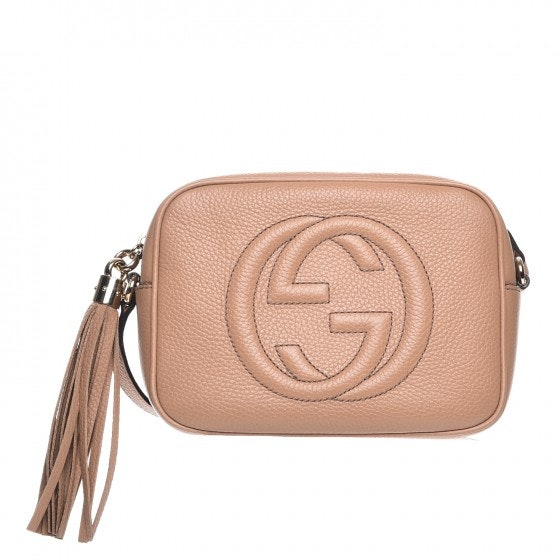 Gucci Soho Disco Crossbody Small Camelia
