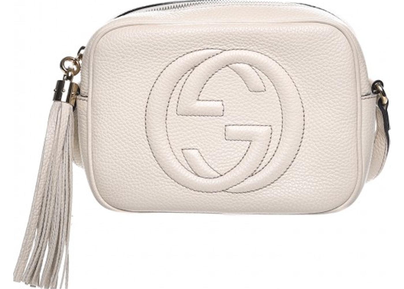 7ff1832ea Gucci Soho Disco Crossbody Small Off White. Small Off White