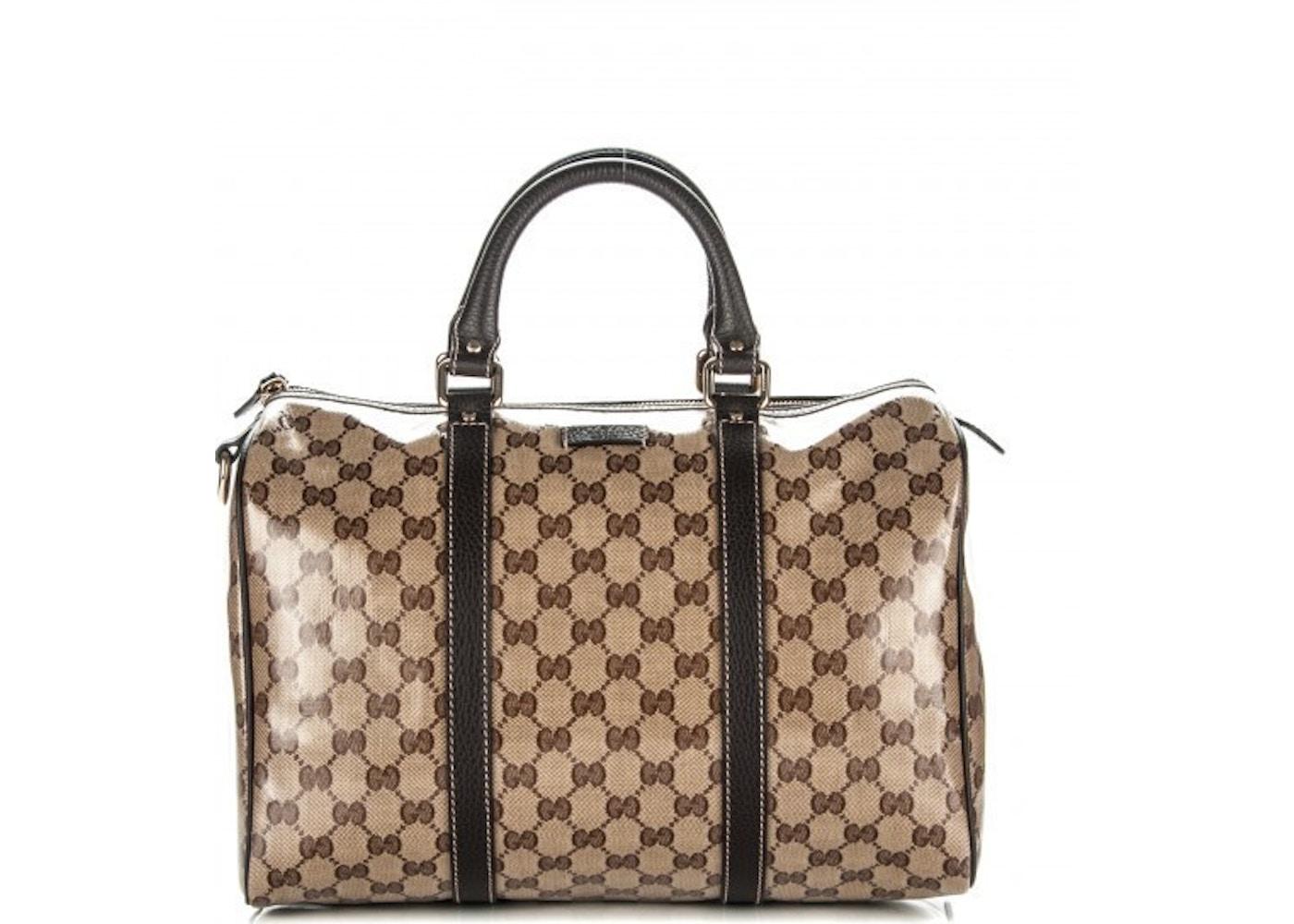 92285588156c Sell. or Ask. View All Bids. Gucci Joy Boston Bag Satchel GG Plus Medium ...