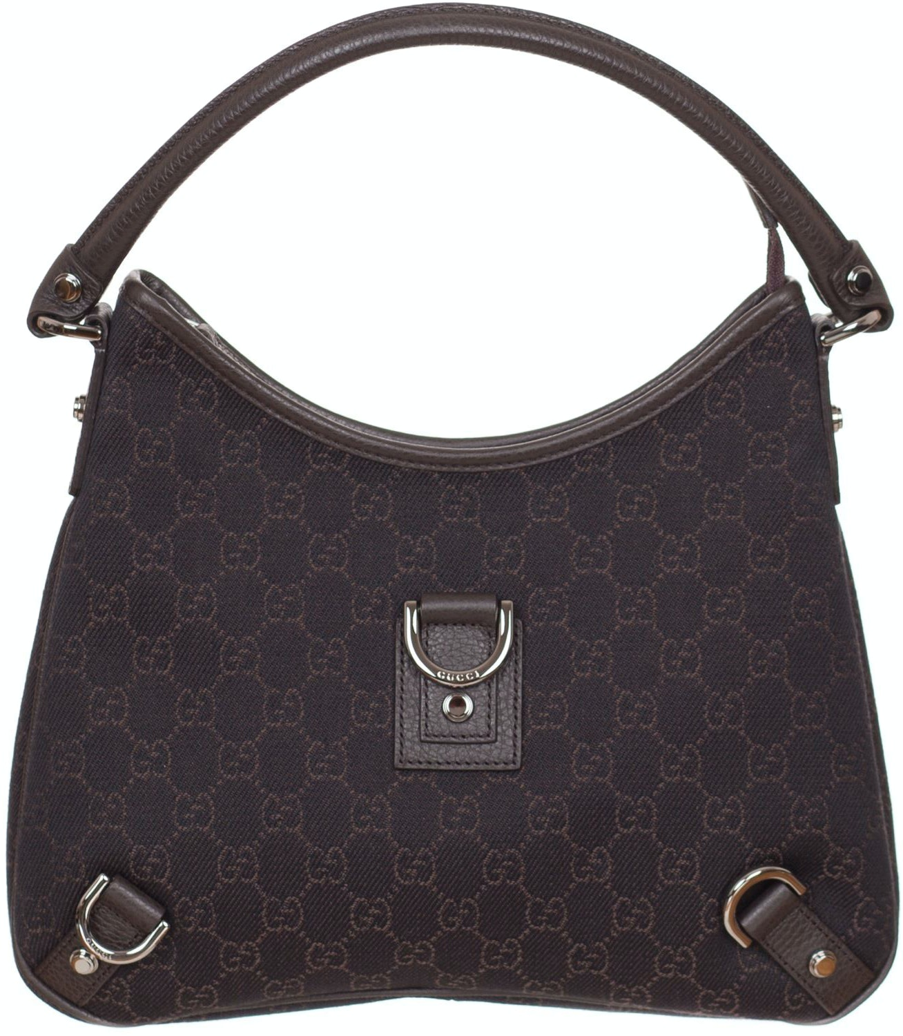 Gucci D-Ring Shoulder Monogram GG Brown