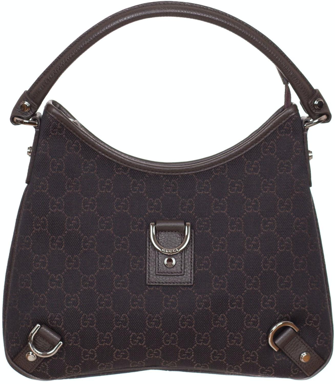 Gucci D-Ring Shoulder Monogram GG Brown