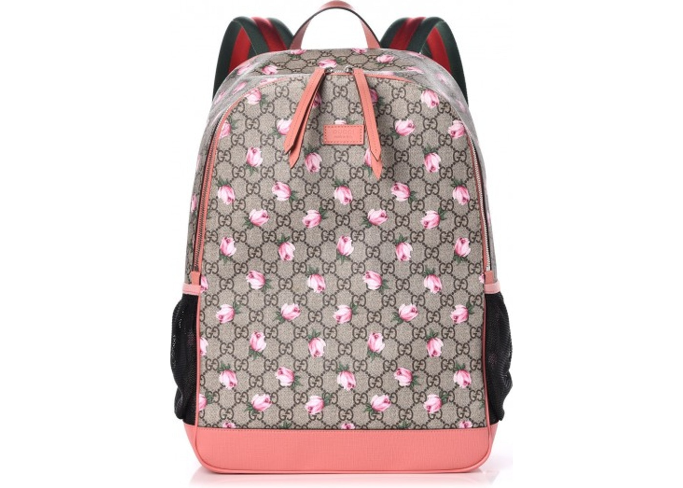 e1f3b8b73122 Gucci Diaper Bag Backpack Monogram GG Supreme Rose Pink. Monogram GG  Supreme Rose Pink