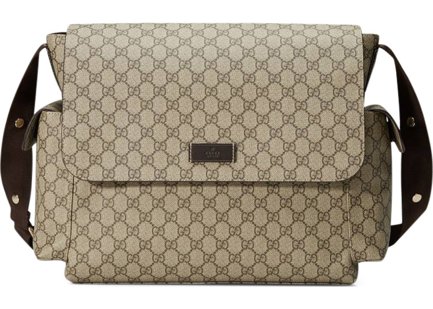 f9ce2601f2bf Gucci Diaper Bag Crossbody GG Supreme Brown. GG Supreme Brown