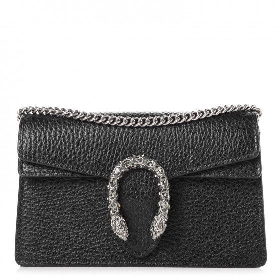 Gucci Dionysus Flap Super Mini Black