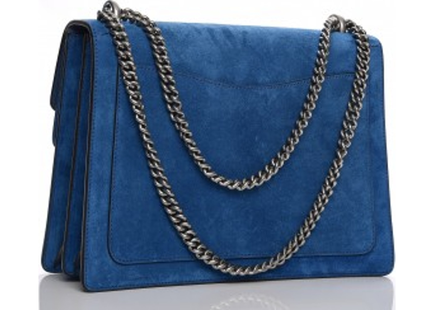 c2b9e2050d4c Gucci Dionysus Shoulder Suede Blue Medium