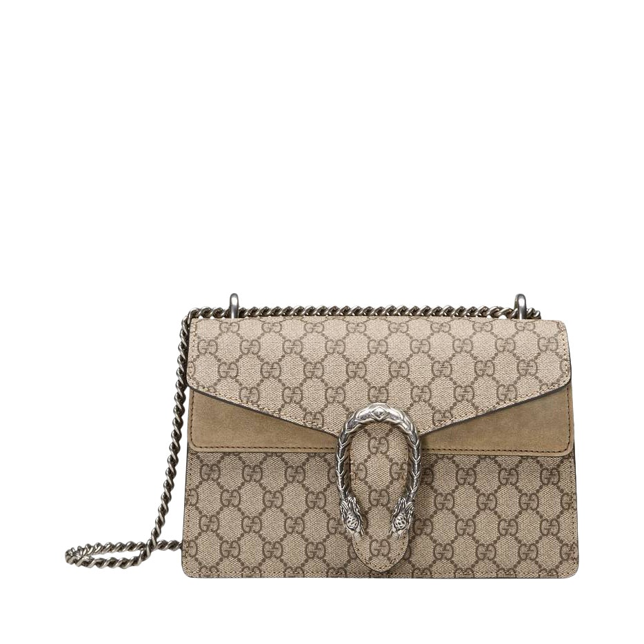 Gucci Dionysus Shoulder GG supreme Mini Brown