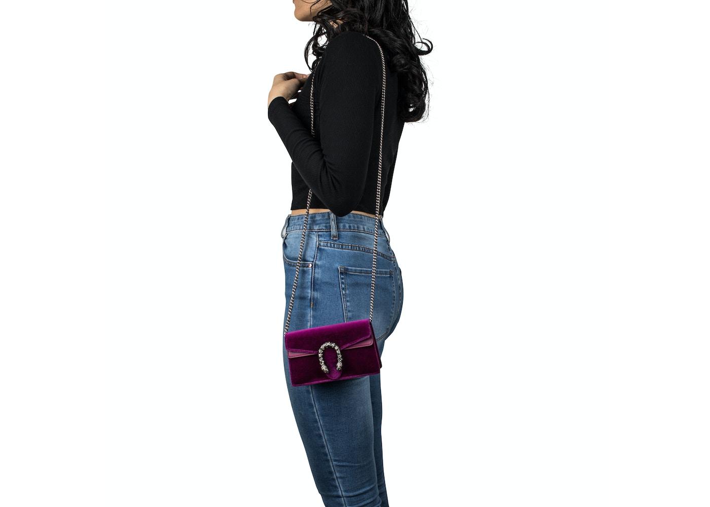 99e3e947719d Gucci Dionysus Super Mini Fuschia
