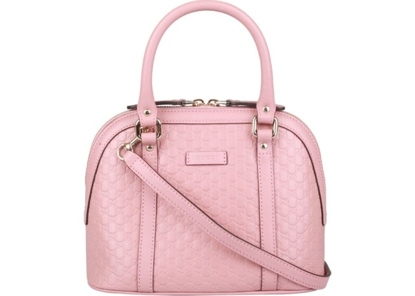 9f61ec5354b8 Gucci Dome Sling Bag MicroGuccissima Pink
