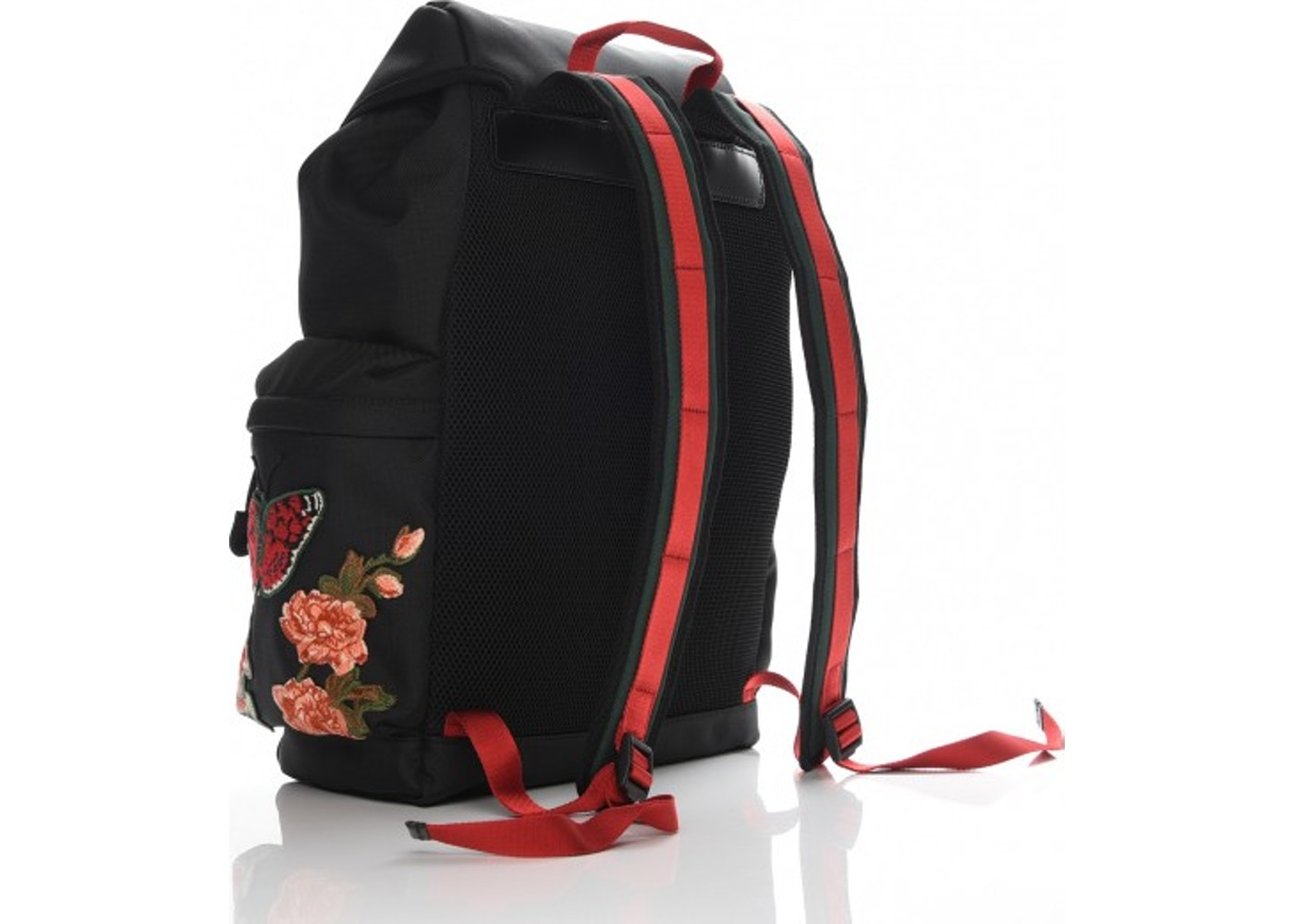 d67fcce982a7 Sell. or Ask. View All Bids. Gucci Techno Canvas Web Drawstring Backpack  Embroidered Black