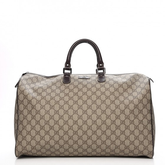 Gucci Plus Duffle Monogram GG Large Dark Brown